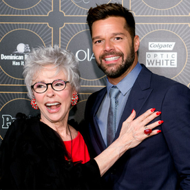 Ricky Martin and Rita Moreno Celebrate People en Español's 50 Most Beautiful Issue