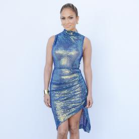 Jennifer Lopez Steals the Show in This Sexy Sequin Mini