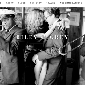 Aisle Aspirations: Take Your Wedding Website to the Next Level with Riley & Grey