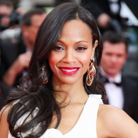 Found It! Zoe Saldana's Berry Lipstick