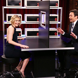 Lunchtime Links: Jennifer Lawrence Hilariously Battles Jimmy Fallon, Plus More Must-Reads