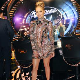 Jennifer Lopez Turns Heads in a Sexy Bejeweled Mini