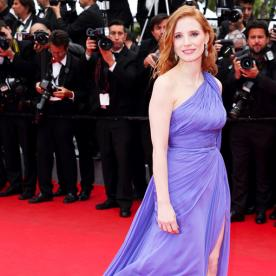 Jessica Chastain Steals the Show in This Dreamy Royal Gown at Cannes