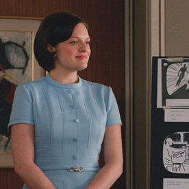 """The Scoop Behind the Fab """"Not-So-Done-Up"""" Weekend Looks Of Last Night's Mad Men"""