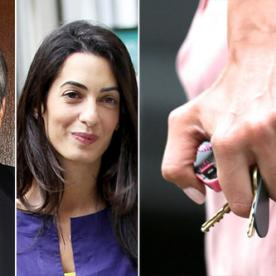A Big Photo for a Big Rock: See Amal Alamuddin's Engagement Ring from George Clooney
