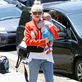 3 Makes a Trend: Gwen Stefani Expertly Styles a Pair of Studded Jeans