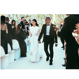 That's a Wrap: See 52 Photos from the Kimye Wedding (Including Kim in Her Dress!)
