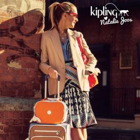 Launch You'll Love: Kipling's Colorful Collaboration with Style Maven Natalie Joos