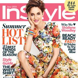 Bring on the Bright! Get Shailene Woodley's Bold Beauty Look from Our June Cover