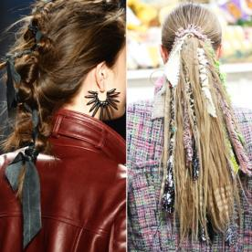 Master These Ribbon and Fabric Looks for Your Hair