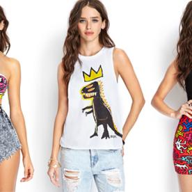 Launch You'll Love: Forever 21's Keith Haring and Jean-Michel Basquiat Capsule Collection