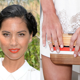 Anatomy of a Stack: Olivia Munn Stylishly Piles on the Rings