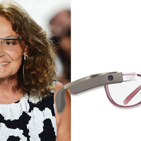 Google Glass Gets Chic with Diane von Furstenberg Frames