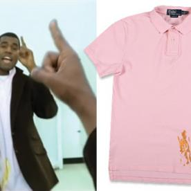 Fact: You Can Now Buy a Replica of Kanye West's Mustard-Stained Polo Shirt (for a Cool $400)