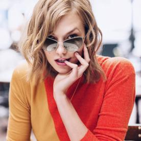 Karlie Kloss Dishes on Her Collab with Warby Parker, Her Style, and Why Sunglasses Are Essential
