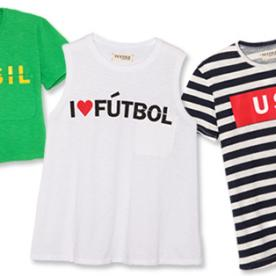 This Elizabeth and James Collection Will Get You In the World Cup Spirit