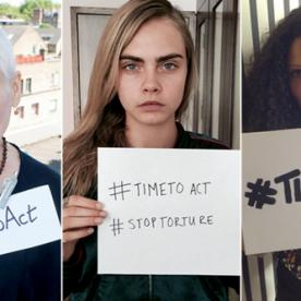 Stars Rally to Support Angelina Jolie's Campaign Against Rape in Conflict