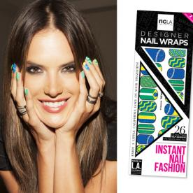Here's How to Nail Alessandra Ambrosio's World Cup Manicure