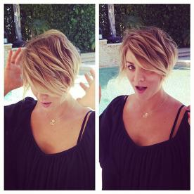 Was Kaley Cuoco's Pixie Cut Inspired by Michelle Williams?