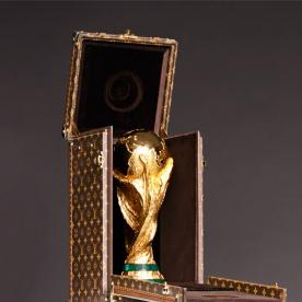 The World Cup Trophy Travels First Class in a Custom Louis Vuitton Case