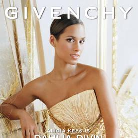 Alicia Keys Is a Golden Goddess In Her Givenchy Fragrance Campaign