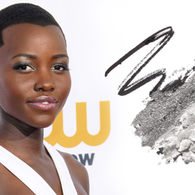 Silver Linings: Steal Lupita Nyong'o's New Take on the Smoky Eye