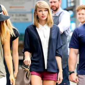 Weekend Style Inspiration: Taylor Swift's Preppy Summer Outfit