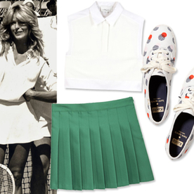 Love Match Serve Up These Wimbledon Inspired Pieces Off