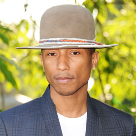 The Different Ways Pharrell Styles His Hats
