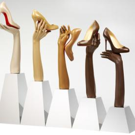 Christian Louboutin Pumps Become Museum Pieces