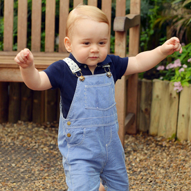 Prince George Is Growing Up Fast! See the Latest Photo of Him Walking