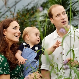 New Photos: Prince George Plays with Butterflies (and It's Simply Adorable)