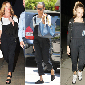 Where to Find Kate Bosworth, Zoe Saldana, and Cara Delevingne's Too-Cool Overalls