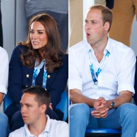 Prince William and Kate Middleton Show Us Their Game Faces at the Commonwealth Games