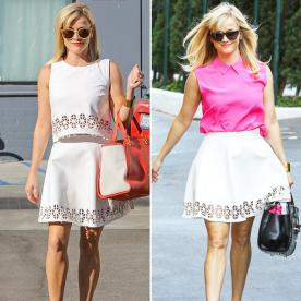 One Skirt, Two Ways: Reese Witherspoon Has Mad Styling Skills