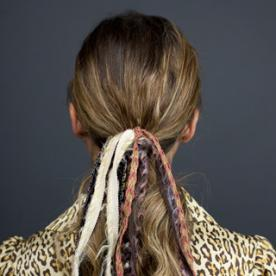 Create a Ponytail Straight from the Chanel Runway with Our GIF Tutorial