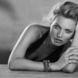 Kate Moss Couldn't Look More Gorgeous as She Celebrates 10 Years with David Yurman