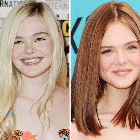Elle Fanning, Is That You? The Star Debuts Brunette Strands