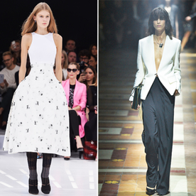 Eric Wilson's Front Row Diary: Everything Old Is New Again at Dior and Lanvin