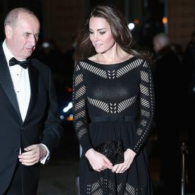 Kate Middleton Wows in a Temperley London Cocktail Dress