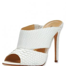 We're Obsessed: Alexandre Birman High-Heel Python Slide