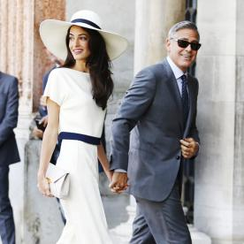 Amal and George Clooney Will Make Their First Awards Show Appearance Together at the Golden Globes