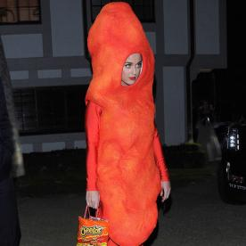 Katy Perry Looks Flaming Hot in Her Halloween Costume