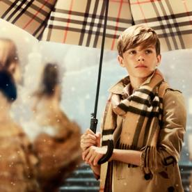 Could He Be Any Cuter? Romeo Beckham Stars in Burberry's Holiday Campaign