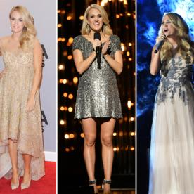 "Carrie Underwood On Her CMA Outfit Changes: ""It's a Well-Choreographed Dance!"""