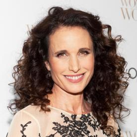 Celebrity Holiday Shopping Strategy: Andie MacDowell