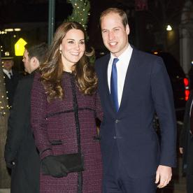 Kate and William Have Arrived to New York City!