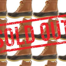 Winter Warning: There's a Shortage of L.L. Bean's Signature Duck Boots