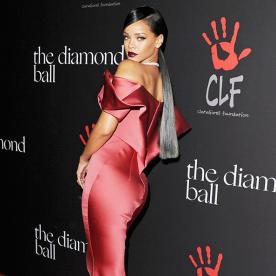 Rihanna's Diamond Ball Ensemble May Be Her Most Spectacular Look Ever