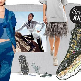 The Style 100: The Athleisure Trend Took Over the Runways (and Our Wardrobes) in 2014